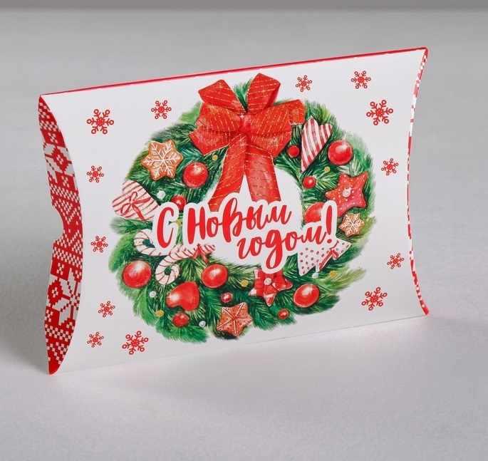 4381647 Коробка сборная фигурная «Веселья!», 11 × 8 × 2 см