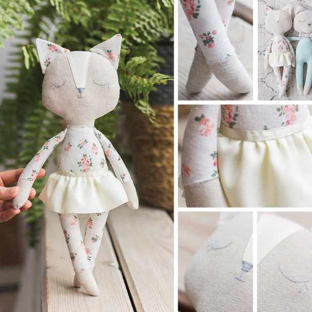 3640005 Мягкая игрушка «Кошечка Мэй», набор для шитья