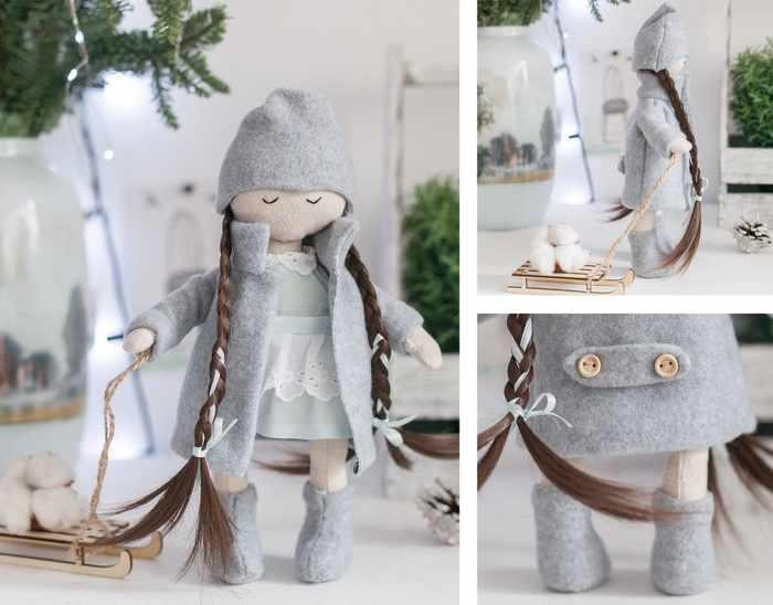 4263013 Мягкая кукла «Дуняша», набор для шитья