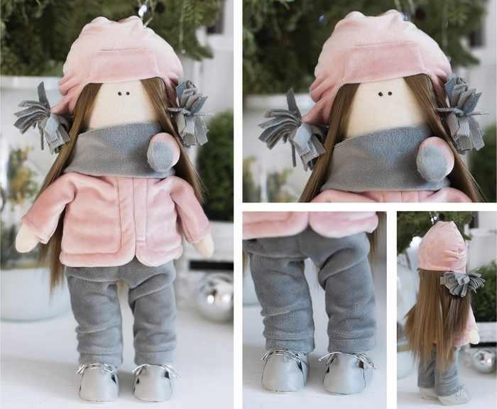 4289383 Интерьерная кукла «Лара», набор для шитья