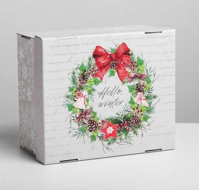 4410581 Складная коробка Hello, winter
