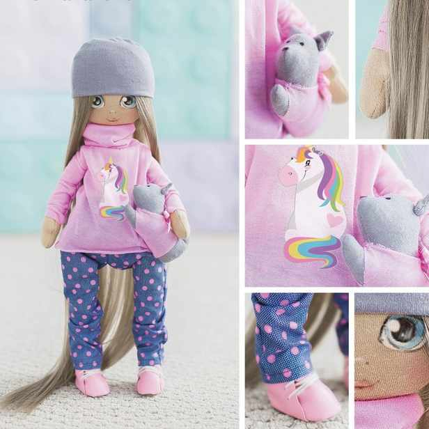 3548678 Интерьерная кукла «Лора», набор для шитья