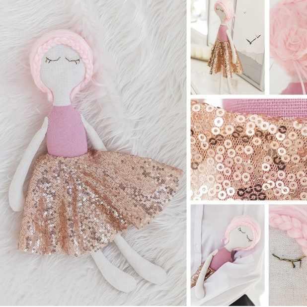 3548683 Интерьерная кукла «Юки», набор для шитья