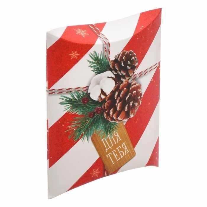 3573428 Коробка сборная фигурная «Для тебя в Новый год»