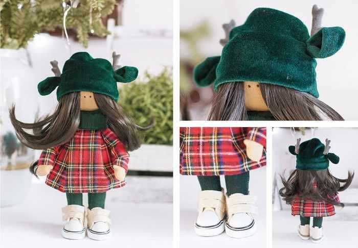 4289381 Интерьерная кукла «Лейн», набор для шитья