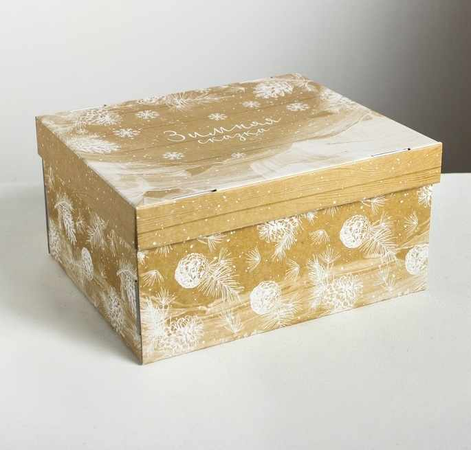 4410579 Складная коробка «Зимняя сказка»
