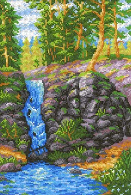 СК-078 Лесной водопад (МП Студия)