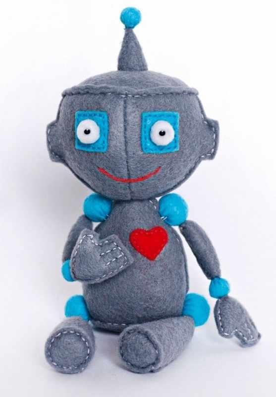 """ПФД-1070 """"Малыш робот"""" - игрушка (Перловка)"""