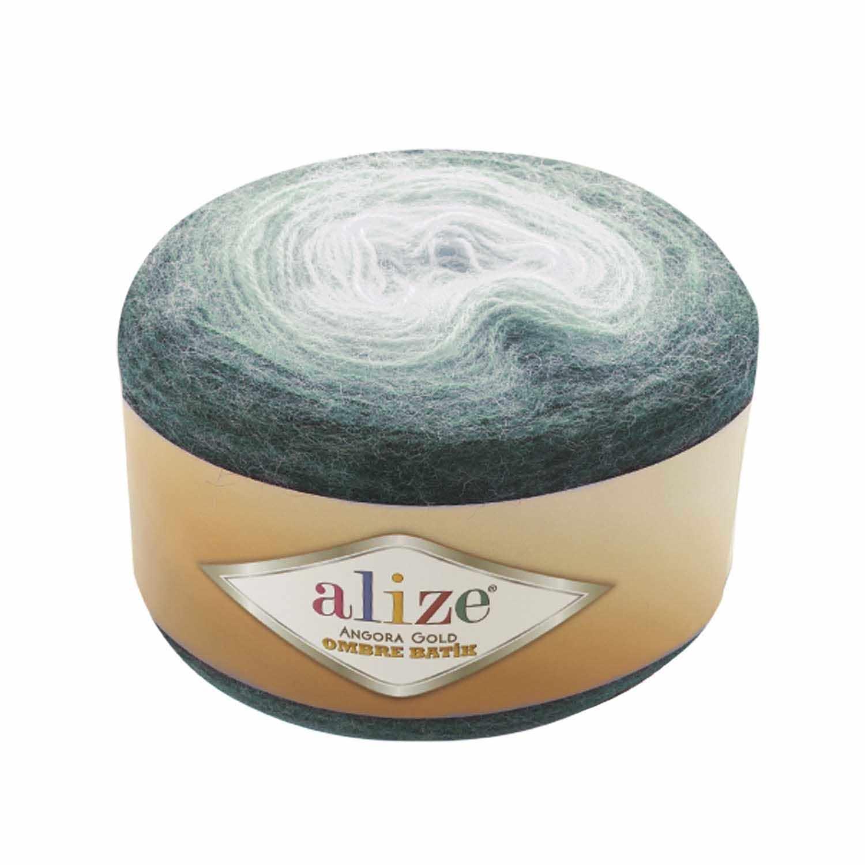 Пряжа Alize Angora Gold Ombre Batik Цвет.7230