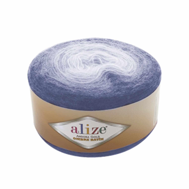 Пряжа Alize Angora Gold Ombre Batik Цвет.7303