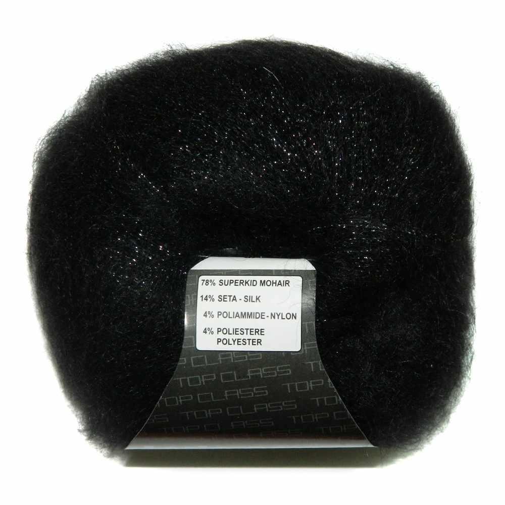 Пряжа Lana Gatto Silk Mohair Lurex Цвет.5000