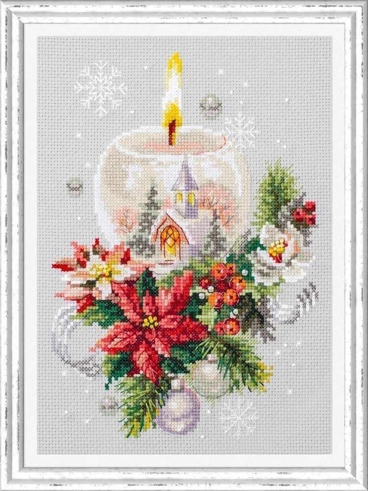 100-231 Рождественская свеча
