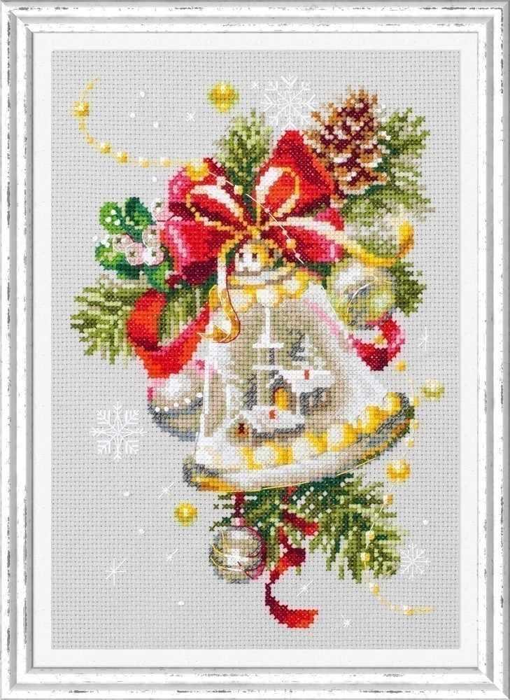 100-232 Рождественский колокольчик