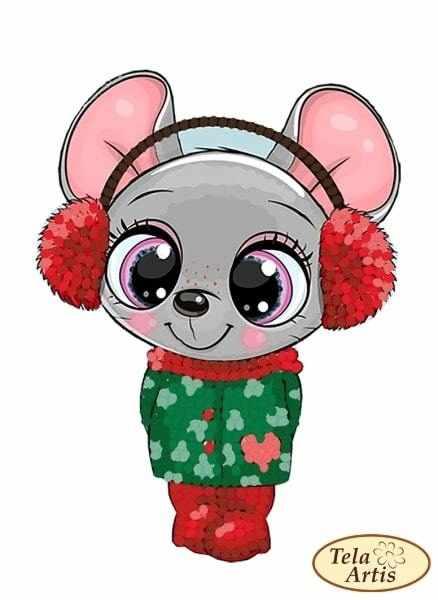 ВЛ-018 - Мышка малышка - схема (Tela Artis)