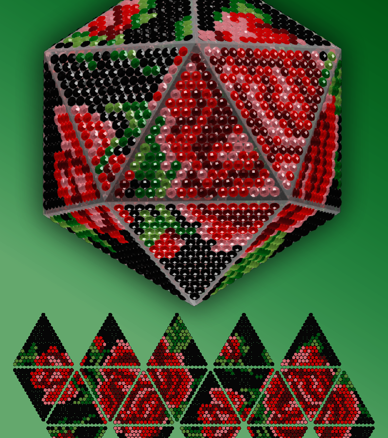 """IP002-B """"Розы на черном"""""""