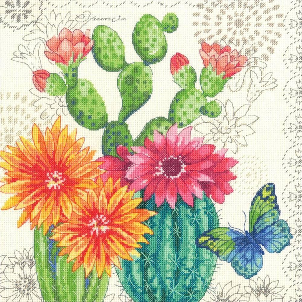 35388-DMS Кактусы в цвету