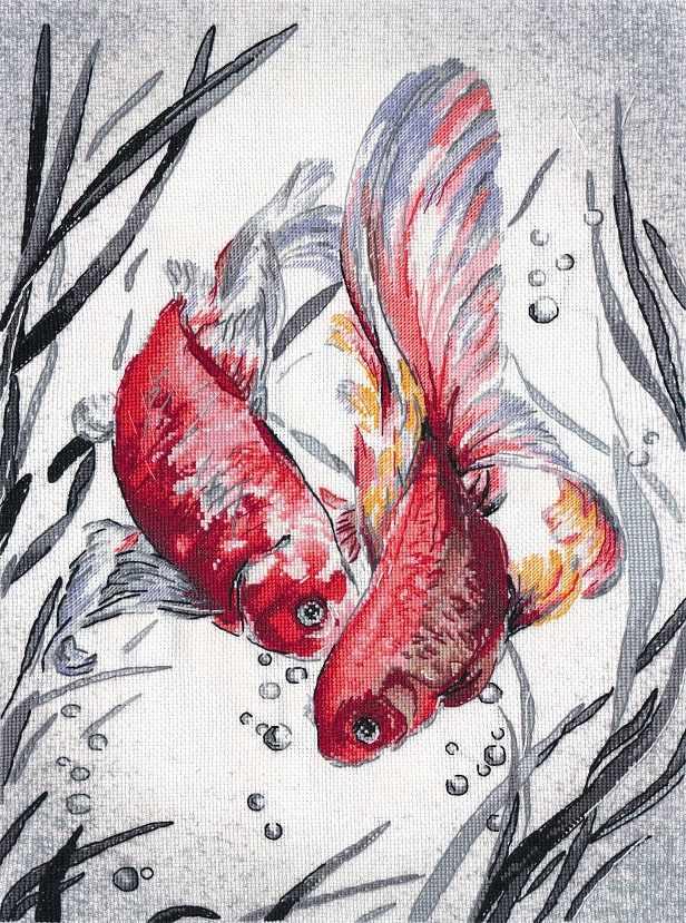 РК-018 Золотые рыбки