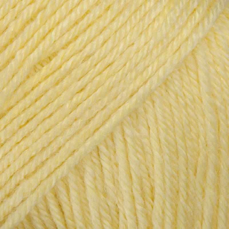 Пряжа GAZZAL Baby Wool Цвет.833 Св.желтый