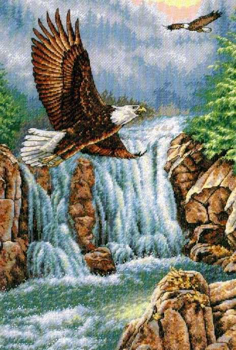 4484 Над водопадом