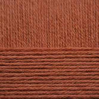 Пряжа Пехорка Детский каприз Цвет.338 Кирпичный