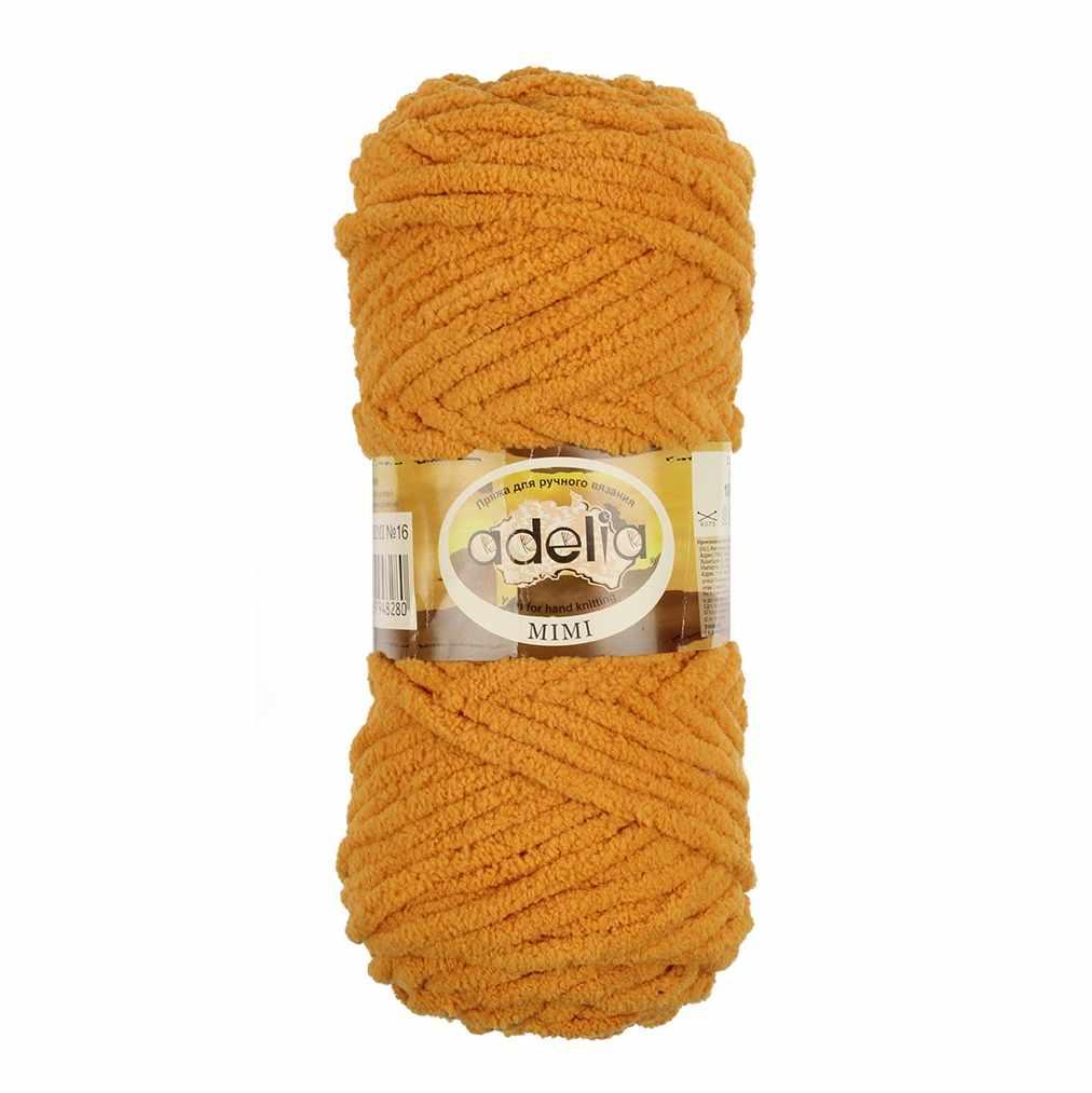 Пряжа Adelia Mimi Цвет.16 Оранжевый