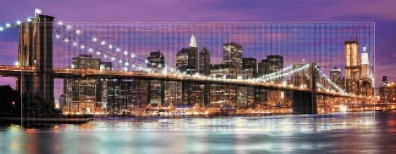 """Алмазная вышивка БС-033 """"Ночной Нью-Йорк"""""""