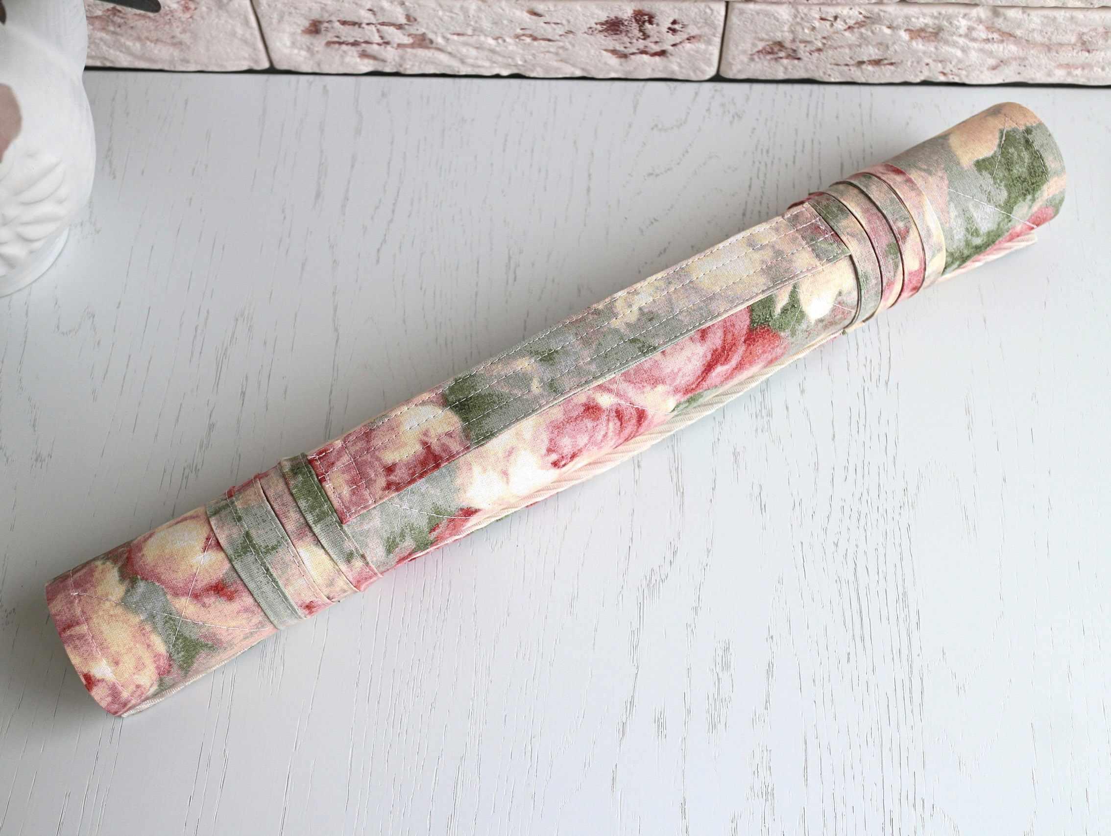 Ретро розы/мохито - ролл для вышивки