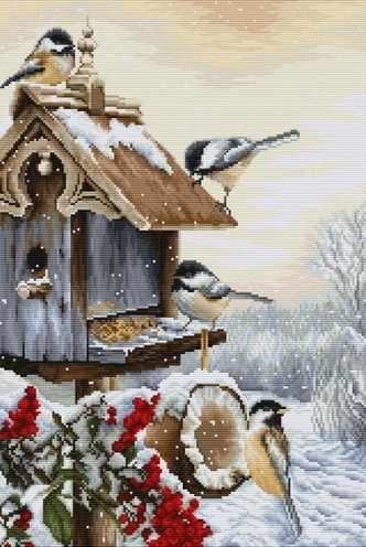 BU4021 Птичий домик