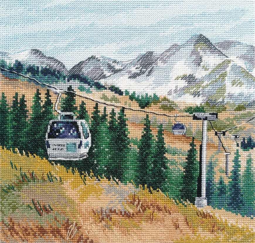 1284 Гора Чимбулак