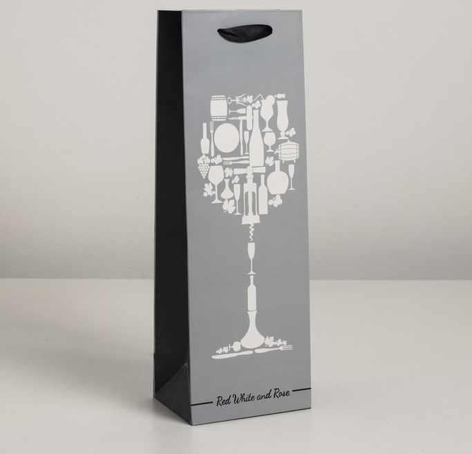 4637795 Пакет ламинированный под бутылку