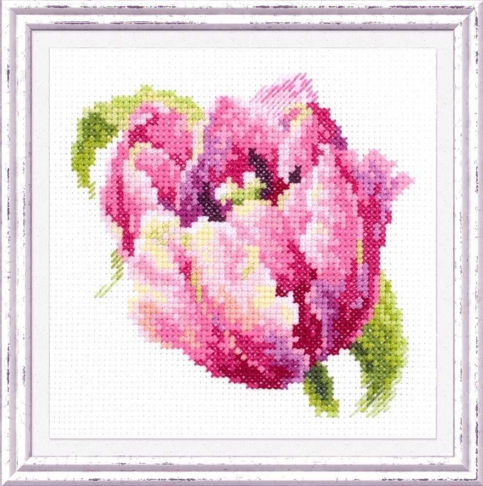 150-013 Розовый тюльпан