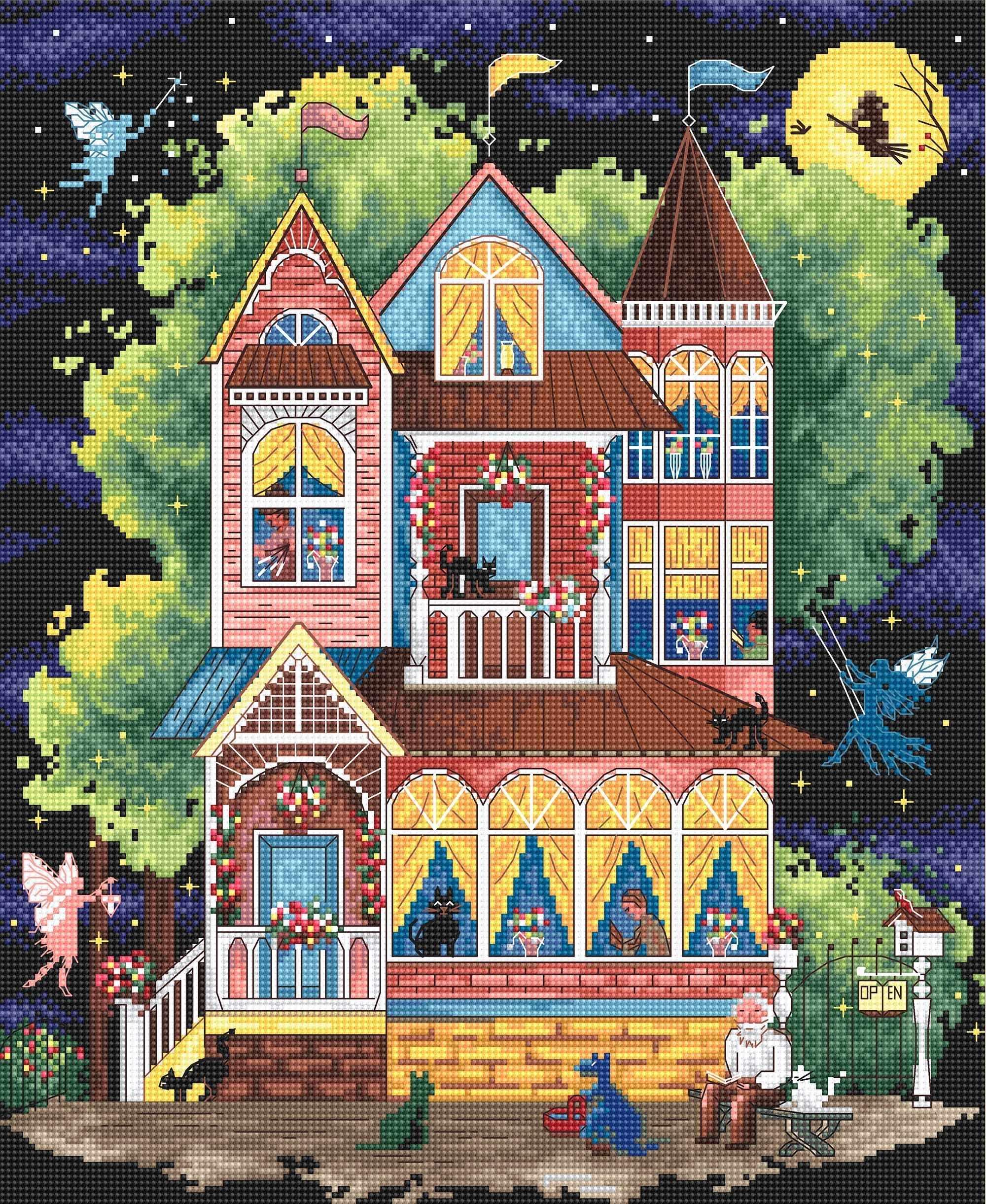 937 - Сказочный дом