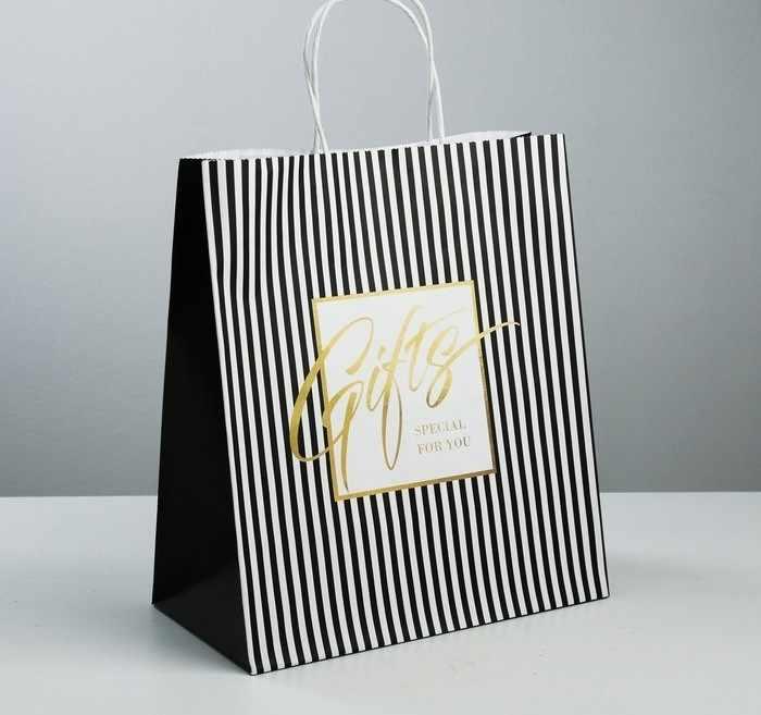3823511 Пакет подарочный крафтовый Gifts