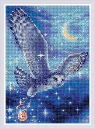 Алмазная вышивка АМ0041 Волшебная сова