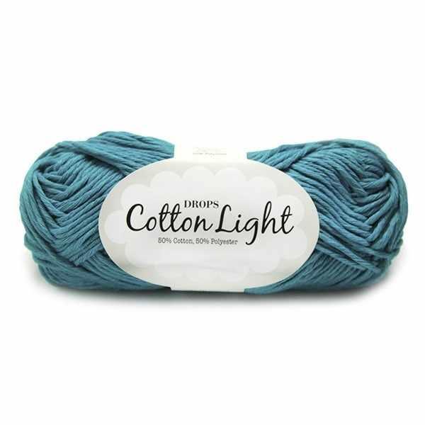 Пряжа DROPS Cotton Light Цвет.14 Turkis
