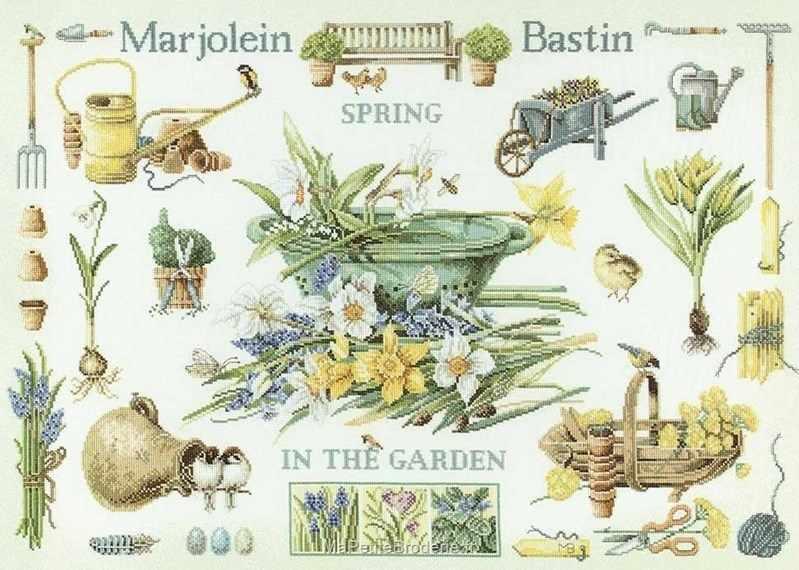 PN-0007964 Весна в саду (Lanarte)