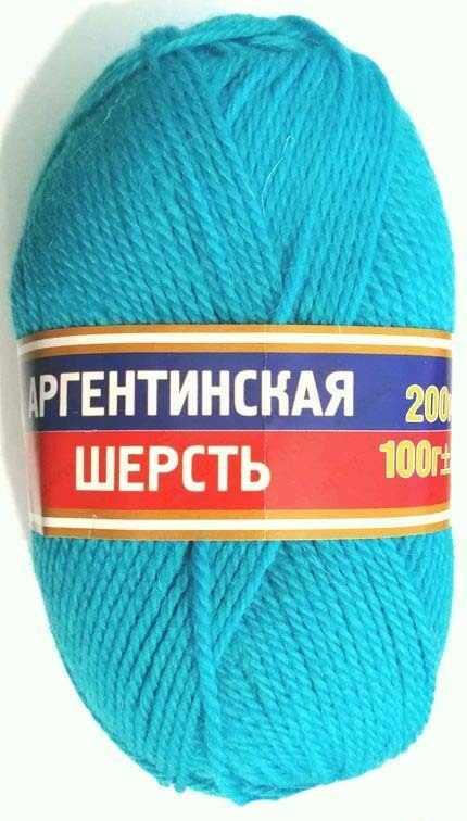 Пряжа Камтекс Аргентинская шерсть 100 г Цвет.24