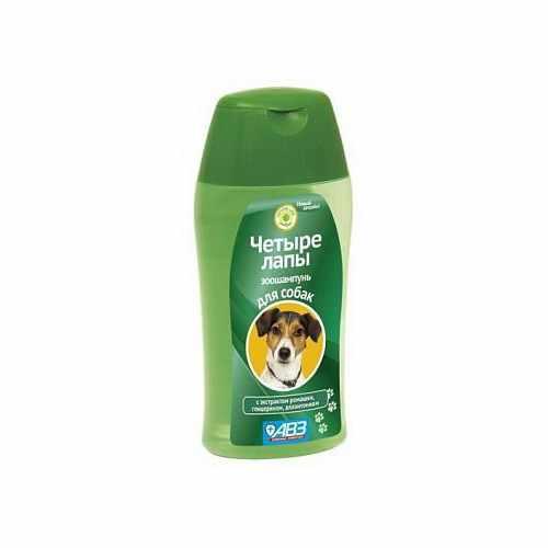 Шампунь ЧЕТЫРЕ ЛАПЫ для ежедневного мытья лап у собак