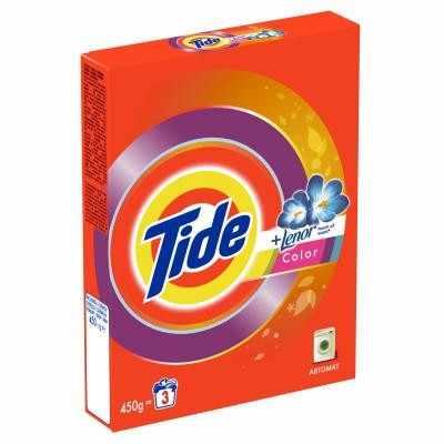 Tide Автомат c ароматом Lenor Color, 450 г