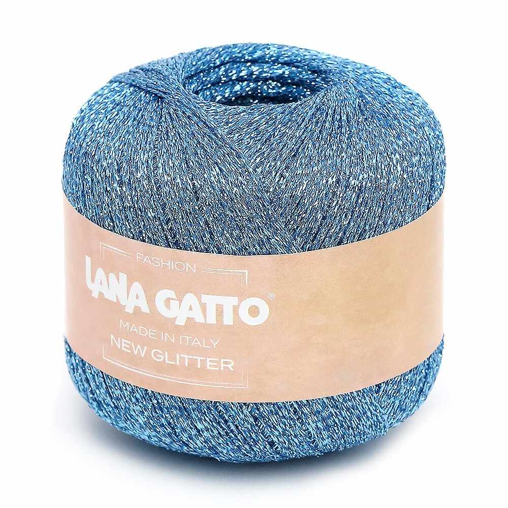 Пряжа Lana Gatto NEW GLITTER Цвет.8590