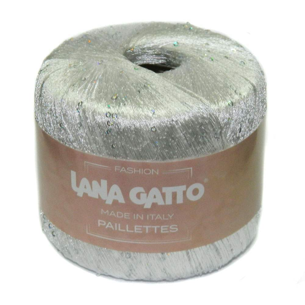 Пряжа Lana Gatto Paillette Цвет. 8599