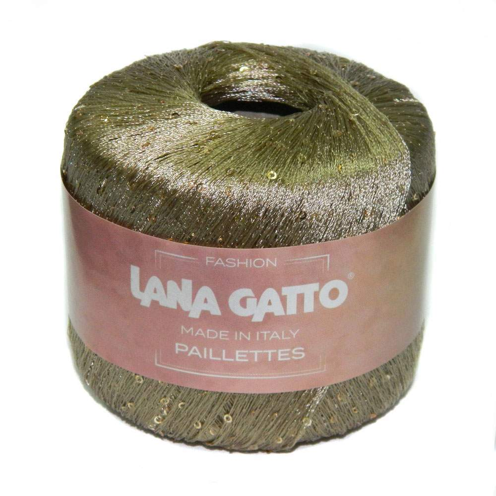 Пряжа Lana Gatto Paillette Цвет. 8600