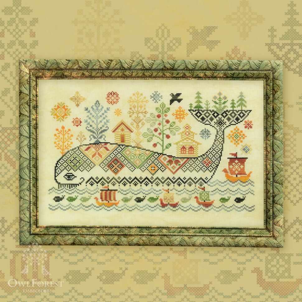 0035-ЧЮ-Н3Bf Чудо-юдо рыба-кит