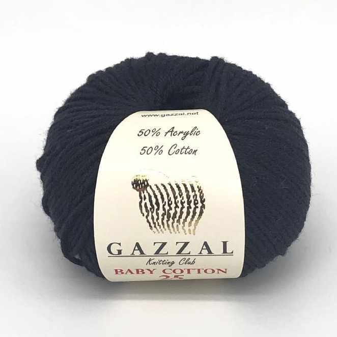 Пряжа GAZZAL Baby Cotton 25 Цвет.3433