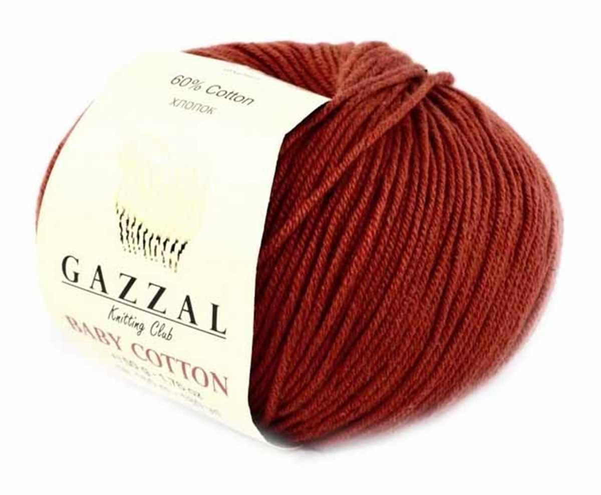 Пряжа GAZZAL Baby Cotton 25 Цвет.3453