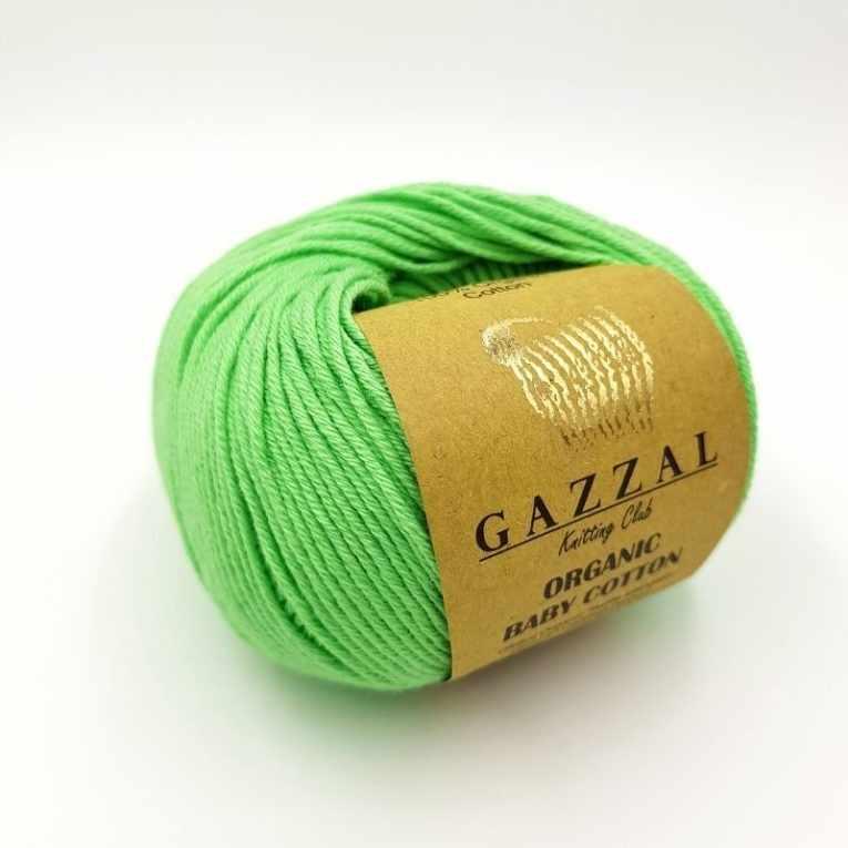 Пряжа GAZZAL ORGANIC BABY COTTON Цвет.421
