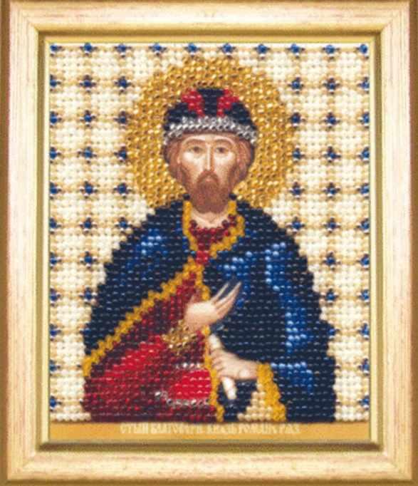 """Б-1166 """"Икона святой благоверный князь Роман"""""""