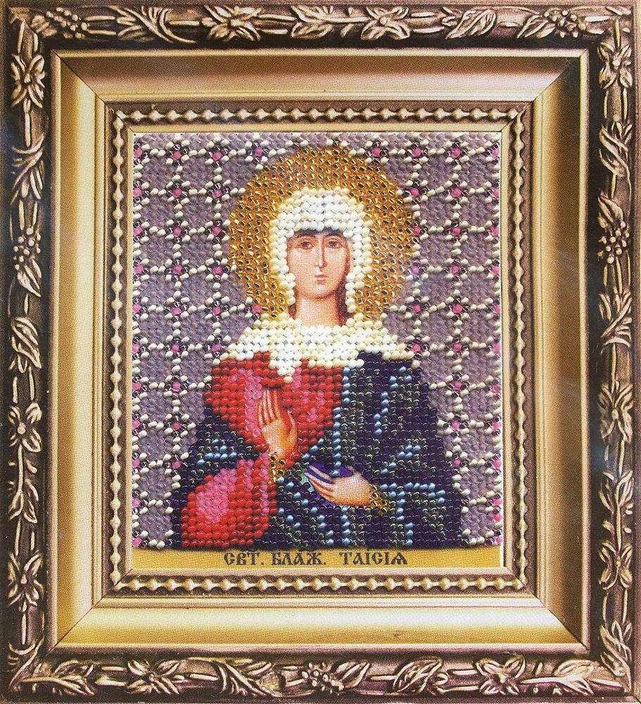 """Б-1190 """"Икона святая блаженная Таисия"""" - чм"""