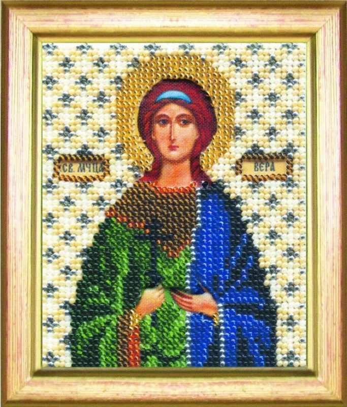 """Б-1060 """"Икона святая мученица Вера"""""""