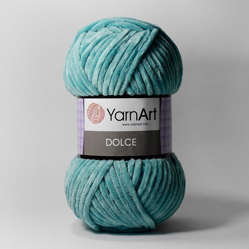 Пряжа YarnArt Dolce Цвет. 770 Светлая бирюза